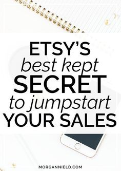 Ready to get your Etsy sales back on track? Just because sales have slowed down (or haven't started at all!), it doesn't mean that you have to take it lying down! Learn the #1 BEST thing you can do to your Etsy shop to give your store an instant sales boo