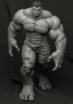 ArtStation - Hulk - Collectible Statue, Bruno Câmara