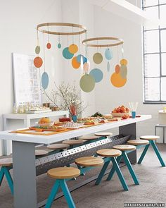 martha stewart party decorating