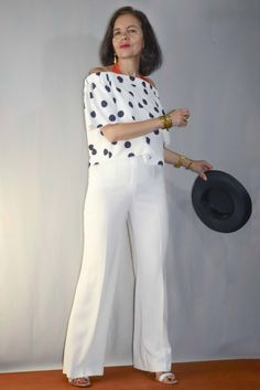 Fashion Over 50, Jumpsuit, My Style, Outfits, Dresses, Party Dress, Feminine Fashion, Pants, Blouses