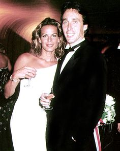 1996 - Princess Stephanie of Monaco and Daniel Ducruet at the Red Cross Ball