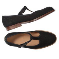 Margaret Howell T-bar shoe