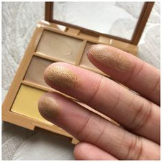 NYX Concealer Palette - Swatches