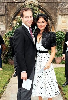 Lord Frederick Windsor with his wife Sophie Winkleman, Lady Windsor. Frederick is the son of Prince Michael of Kent, the queen's cousin. Royal Queen, Royal Prince, Prince And Princess, Royal Tiaras, Royal Jewels, Lord Frederick Windsor, Prince Michael Of Kent, English Royal Family, House Of Windsor
