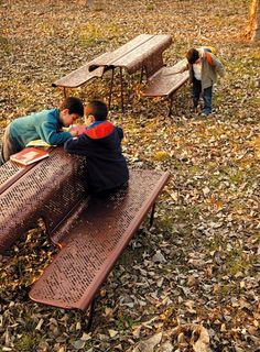 Urban benches with multiple functions