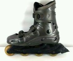 Blade Runner Pro 4700 Men's Roller Blades Size 12 Grey Inline Skates | eBay