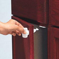 Safety 1st Decor Grip n' Go Cabinet Lock 2 Pack - Safety 1st ...