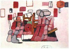 Philip Guston - VI. Cellar, 1970. Oil on canvas, 78 × 110 in