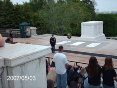 Tomb of the Unknown Soldiers, Arlington National Cemetery, Arlington, VA