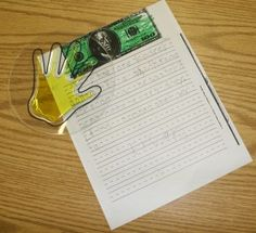 Using a squishy hand and other strategies to improve writing