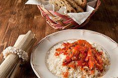 Μικρά Μυστικά: Νηστίσιμο διαιτολόγιο επτά ημερών και συνταγές Risotto, Grains, Food Porn, Curry, Rice, Eggs, Breakfast, Ethnic Recipes, Egg