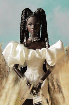 Beautiful Barbie Dolls, Black Barbie, New Pins, 50 Shades, Kara, Fashion Dolls, Aurora Sleeping Beauty, Disney Princess, Elegant