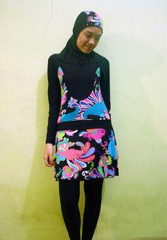 kode brmd1308 harga idr baju renang muslimah
