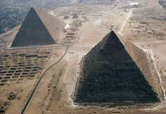 Las pirámides de Guiza, maravilla del mundo antiguo, Egipto