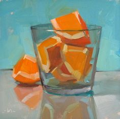 Carol Marine's Painting a Day: Over-enthusiastic