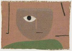 Paul Klee, L'oeil on ArtStack #paul-klee #art