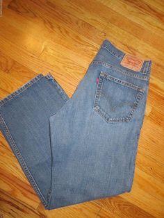Vintage Levi's 559 Blue Jeans Size 35 X 30  #740 #Levis #WorkCasual