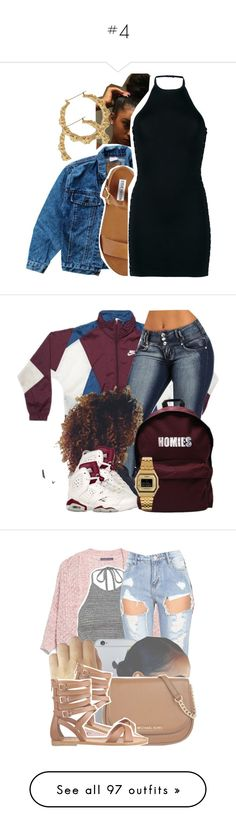 """""""#4"""" by marialara94 ❤ liked on Polyvore featuring Levi's, Steve Madden, Balmain, ASAP, Casio, JazzyLovesYou, art, River Island, Givenchy and GUESS"""