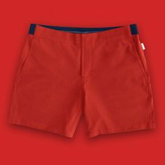 Redford Red Non-Stop Shorts / mens fashion / mens accessories / menswear / Red / Urban men / travel gear / city essentials Mens Trends, Best Mens Fashion, Urban Outfits, Trendy Outfits, Fine Men, Modern Man, Designer Wear, Travel Size Products, Traveling By Yourself