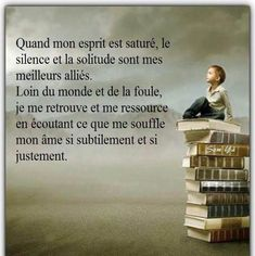 Citation Silence, Silence Quotes, Quote Citation, Positive Attitude, Attitude Quotes, Me Quotes, French Words, French Quotes, Strong Words