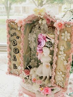"""""""You are a Doll"""" altered matchbox 