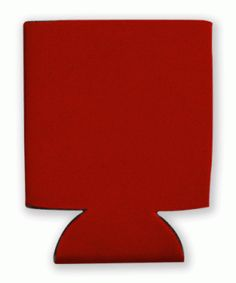 This is a sample of a RED collapsible Kan Kooler. It can be custom imprinted with your message by Crown Advertising.  Order at CrownAdv.com. Key Fobs, Drink Sleeves, Advertising, Crown, Messages, Mugs, Red, Corona, Keychains