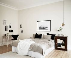 Inspiring apartment via Stadshem with design classics, beautiful...