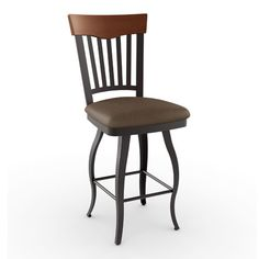 """Found it at Wayfair - Countryside Style 26.5"""" Swivel Bar Stool with Cushion"""