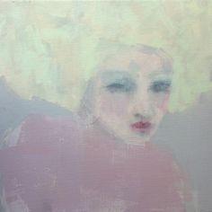 For Love - Acrylic on Canvas (40 x 40cm) by Jorunn Mulen