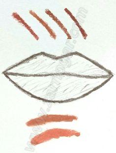 Estudio de color. Micropigmentación de labios.