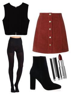 """""""Untitled #76"""" by itsprettyoverrated on Polyvore featuring Topshop, Commando, Givenchy and Zara"""