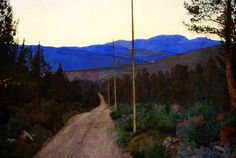 Harald Sohlberg(1869ー1935)「A Country Road」