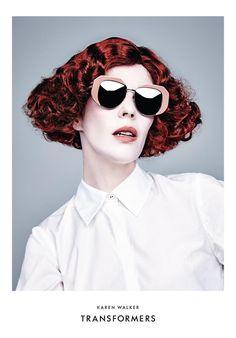 Karen Walker Transformers Eyewear Collection (Karen Walker)    Michael Schwartz - Photographer Dennis Gots - Hair Stylist Valery Gherman - Makeup Artist