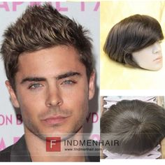 Hipsters Young Male Celebrities Mens Wigs And Toupees Best Mens Hair  Replacement systems Online Sale Australia 310594df667d