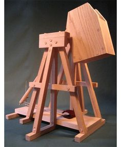 Plans And Instructions To Build A Working Model Highland Trebuchet