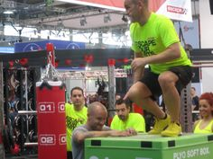 #fibo2014 #colonia #fitness #viaggi #egowellness #green #workout #crossfit