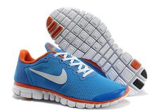 Chaussures Nike Free 3.0 V2 Femme ID 0006 [Chaussures Modele M00529] - €58.99 : , Chaussures Nike Pas Cher En Ligne. Nike Free 3, White Women, Green And Grey, Running Shoes, Sneakers Nike, Flats, Mens Fashion, Orange, Malli