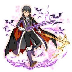 Kirito Kirito Kirigaya, Kirito Asuna, Online Anime, Online Art, Anime Guys, Manga Anime, Character Concept, Character Design, Sword Art Online Kirito