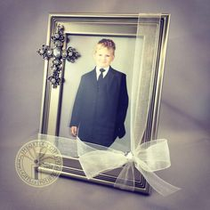 Pewter photo frame with dangling jewelled cross. Perfect for baptism, communion and confirmation Bomboniere (favors) this is a very nice quality frame with a black velvet easel backing. Baptism Favors, First Communion, Black Velvet, Christening, Special Day, Dangles, Favours, Easel, Confirmation