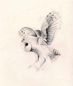 owl by ink owl Kunst Tattoos, Bild Tattoos, Tattoo Drawings, Art Drawings, Tattoo Pics, Labyrinth Tattoo, Lechuza Tattoo, Owl Tat, Vampire