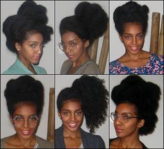 Cipriana // Natural Hair Style Icon | Black Girl with Long Hair