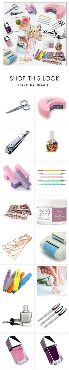 """HOME NAIL SALON!!!"" by kskafida ❤ liked on Polyvore featuring beauty, Tweezerman, Christian Louboutin and GUiSHEM"