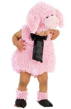 Princess Paradise Baby Girls' Premium Squiggly Piggy, Pink, 18-24 Months