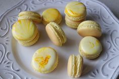 Marbled Macaron/ Monica Wada/ Wada Wonderful Wold of Baking