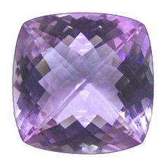 25.29 ct Cushion Cut Amethyst Fine Purple -Gold Crane & Co.
