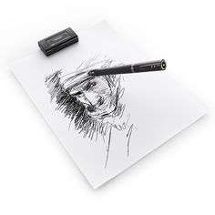 Wakom Inkling - Everything you sketch on paper with the ballpoint-tipped pen is recorded digitally—with layers and all that.