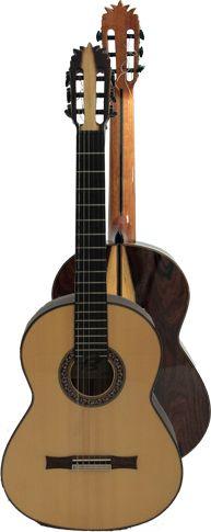 Ver Modelo Aranjuez, Guitarra Clásica del Constructor Francisco Bros, en el Blog de guitarra Artesana