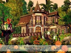 Elven Cottage by Pralinesims - Sims 3 Downloads CC Caboodle