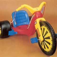1978 BIG WHEEL..... Ahhhh those were the days! Brings back some good memories /my little sisters had these and would try to run me over in the driveway.