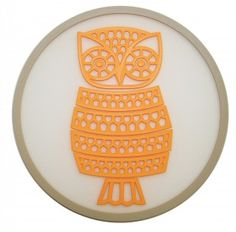 Owl Coasters from Urban Nest Designs via Hard to Find